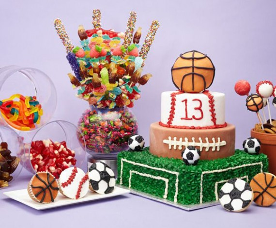 Bar Mitzvah Candy Arrangment